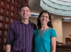 Rabbis Joshua and Daria Jacobs-Velde